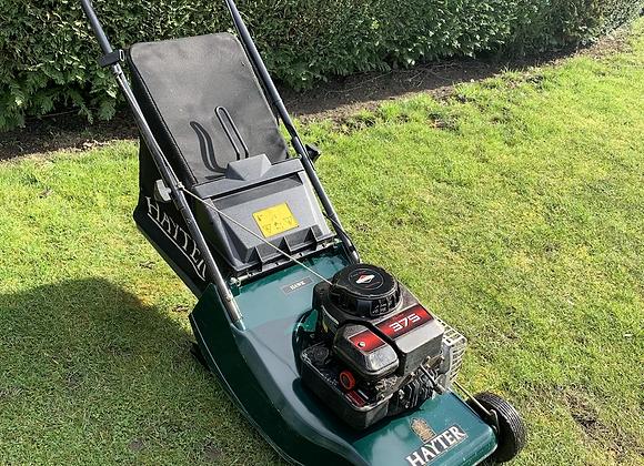 Hayter hawk 41 push roller lawnmower