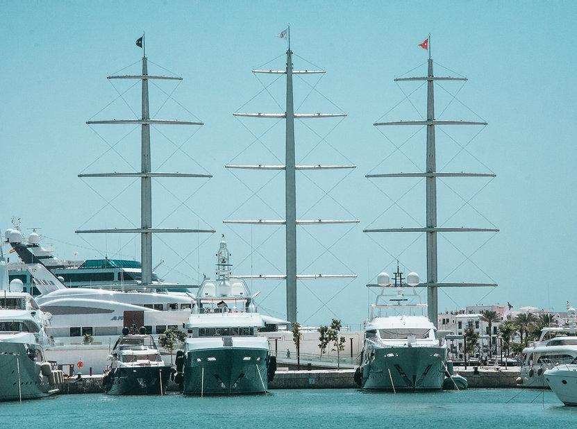 Yacht VSAT TVRO 4G IT Palma Mallorca