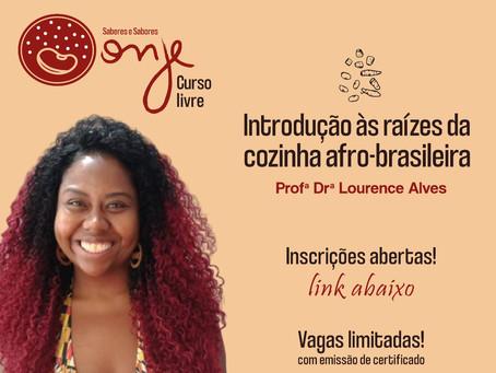 Curso Introdução às Raízes da Cozinha Afro-brasileira