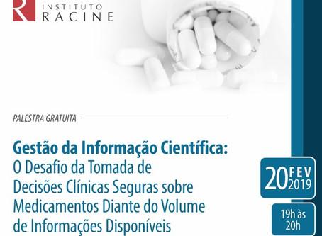 Palestra Gratuita: Gestão da Informação Científica