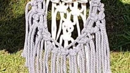 'Knot On' Twilight Macrame with Fire Pit and Bubbles