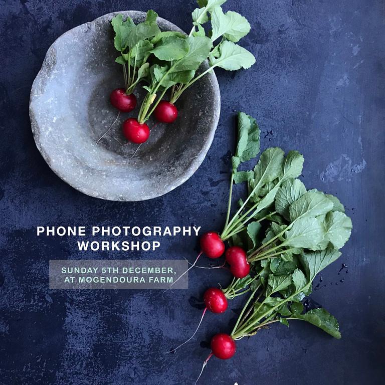 Phone Photography Workshop with Honey Atkinson