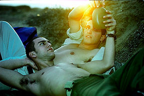 The thin line between homo-social and homo-erotic in army life. (Israel)