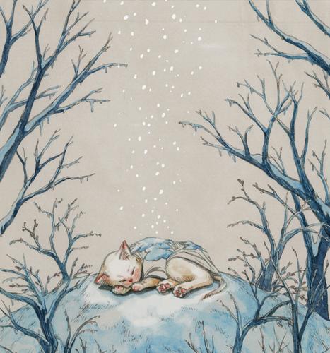 Sleeping under snow