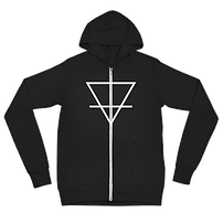 Cycle of Fusion Earth Symbol Zip Up Jacket