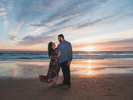 Crystal Cove State Beach Engagement Photography | Jankee & Nirav Photo Session | Newport Beach, CA