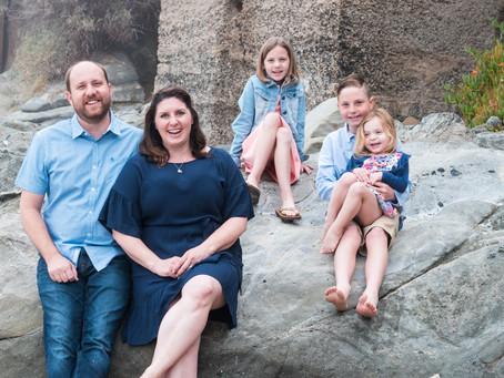 Moss St. Beach Family Photography | Easter Family Photo Session | Laguna Beach, CA