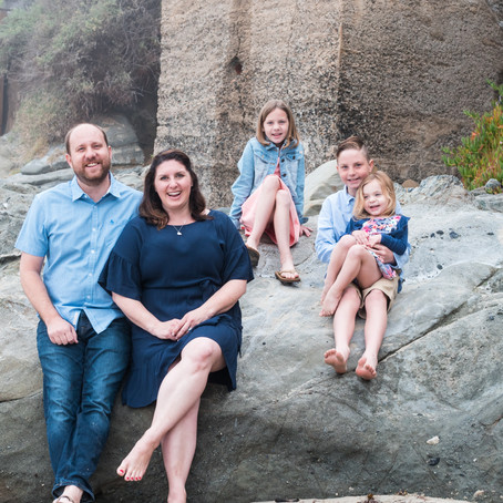 Moss St. Beach | Easter Family Mini-Session | Laguna Beach, CA