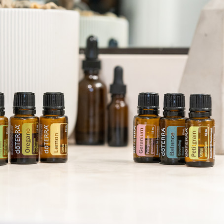 DoTerra Essential Oils Product Photography