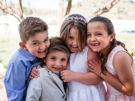 Ladera Ranch Family Photography | Bella's First Communion Photos | Holy Trinity Catholic Church