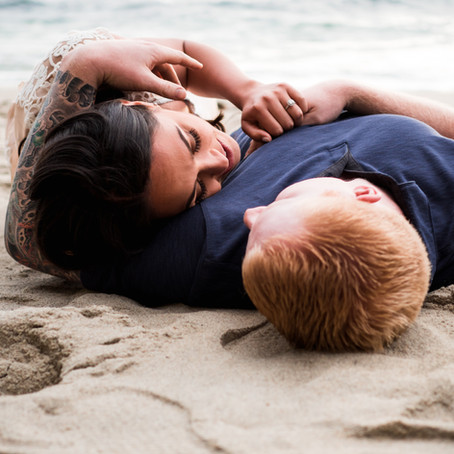 Sunset Engagement Session | Laguna Beach, CA | Sam & Cody