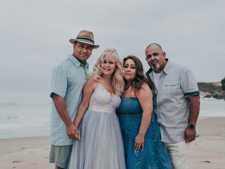 Monarch Beach Family Photography | Mannie & Val Anniversary Photos | Dana Point, CA