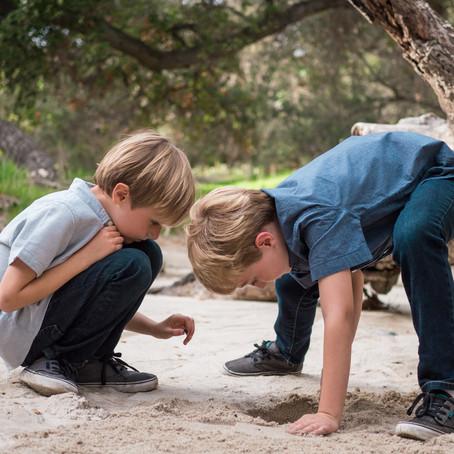Thomas F. Riley Wilderness Park | Family Mini-Session | Coto de Caza, CA