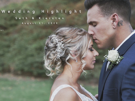 Private Estate Wedding Videography & Photography | Seth & Kiersten Highlight Film | Yorba Linda, CA