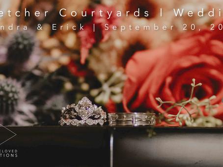 Fletcher Courtyards Wedding Videography & Photography | Sandra & Erick | Orange, CA