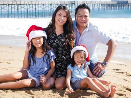 Balboa Pier & Newport Upper Back Bay Family Photography | Holiday Family Photo Session | Balboa, CA
