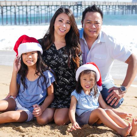 Balboa Pier & Newport Upper Back Bay | Holiday Family Photo Session | Balboa, CA