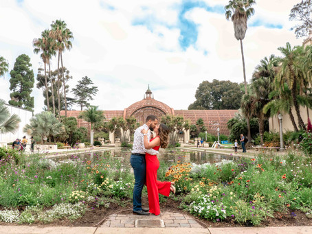 Balboa Park Engagement Videography & Photography | Carmen & Brandon | San Diego, CA