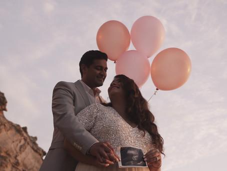 Pirate's Cove Gender Reveal | Maternity Videography | Corona Del Mar, CA