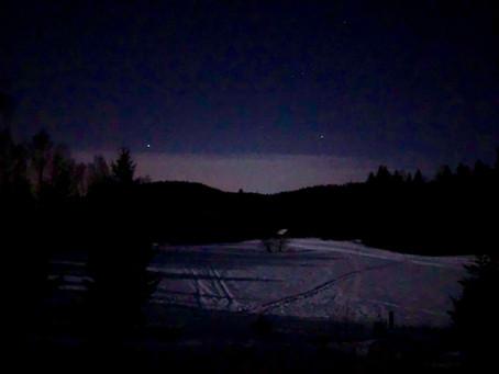 Overnatting under stjernehimmelen!