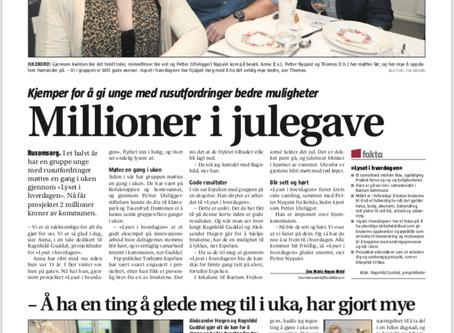 Dagbladet og Budstikka den 21. desember 2018!