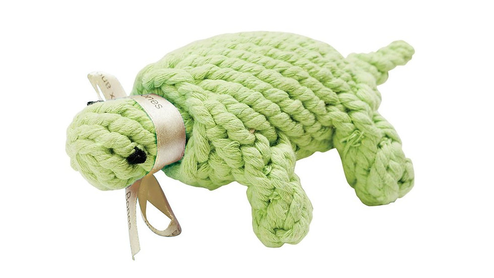 Turtle Rope Toy Sm