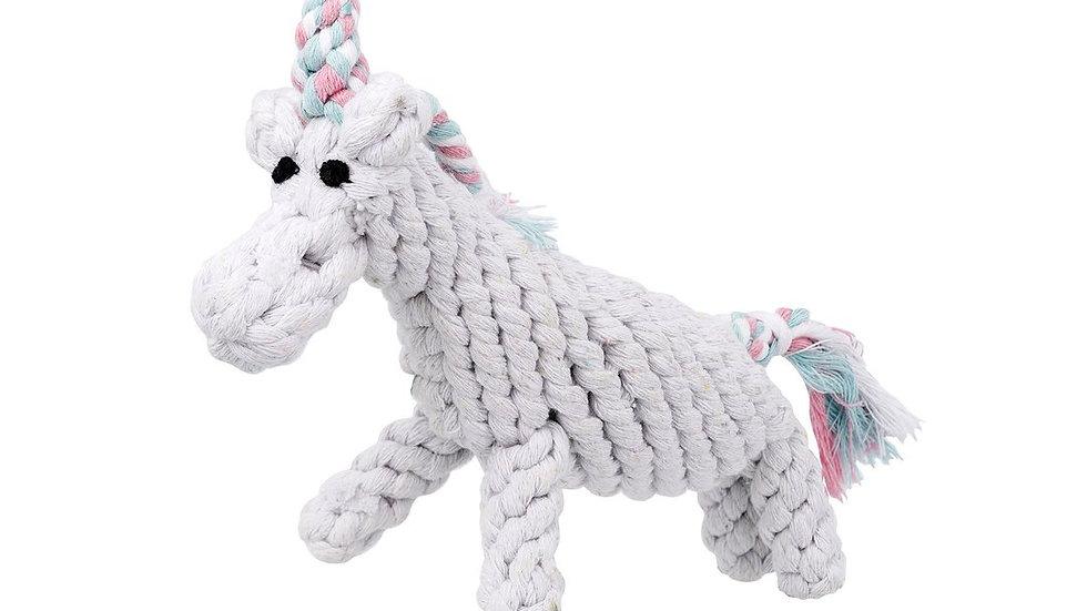 Unicorn Rope Toy