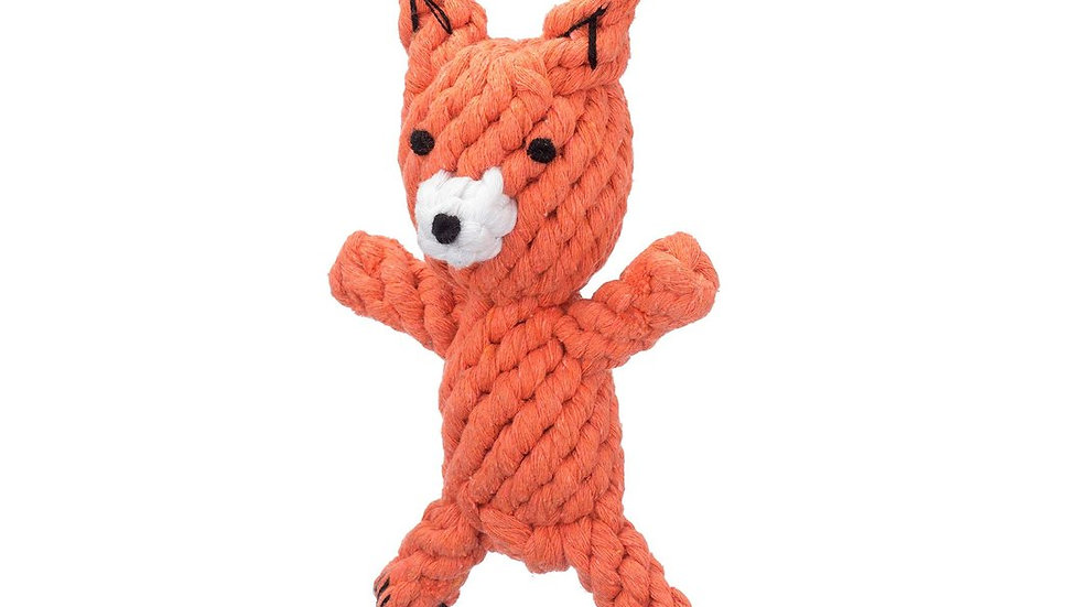 Fox Rope Toy