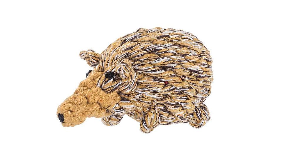Hedgehog Rope Toy