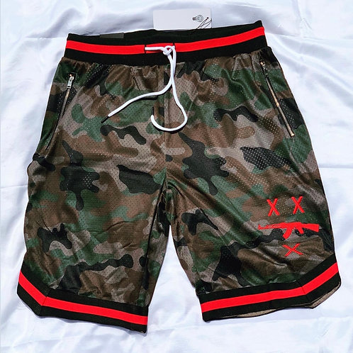 #FreeZilla Camo Shorts