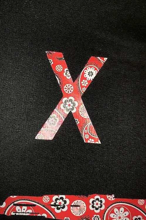 #FreeZilla Black hoodie/Red Bandanna Logo