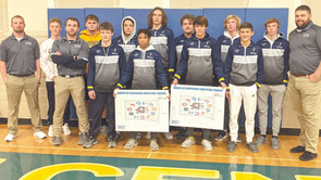 Titan wrestlers place second in team standings at Conference Tourney