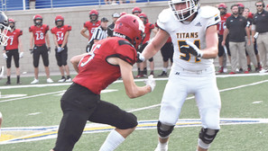 Titans earn first win at Class 11AA
