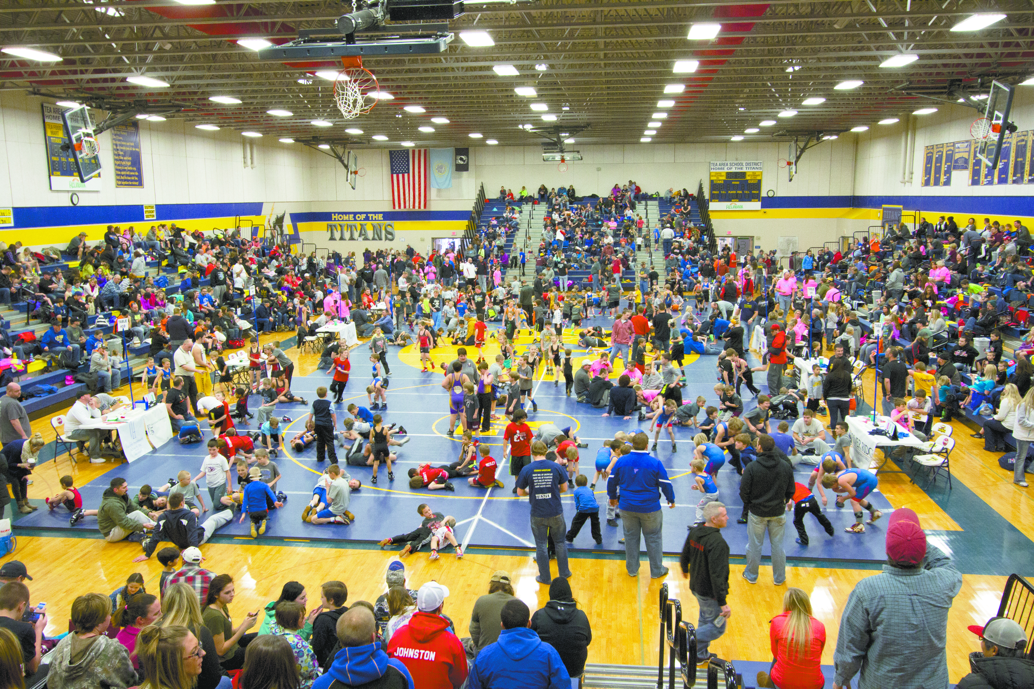Youth wrestling tournament draws 500 wrestlers | Tea Weekly