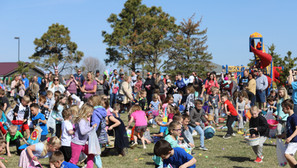 Huge crowd turns out for Tea Chamber's Easter event