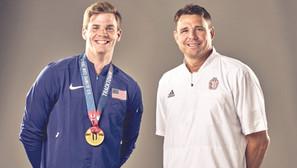 Tea resident, Derek Miles helps coach Nilsen to Olympic silver in Tokyo