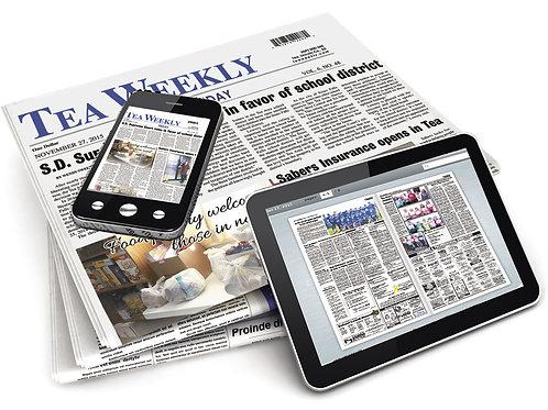 Tea Weekly Print & eEdition