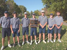 Titan golfers capture State A Championship