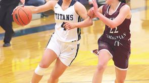 Ritter becomes Titan girls' all-time leading scorer