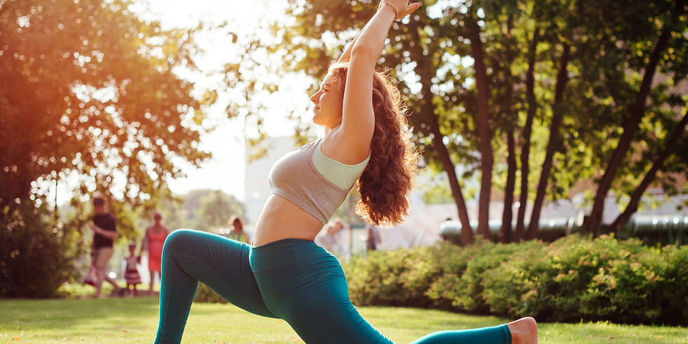 Outdoor Slow Flow Hatha Yoga