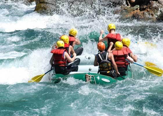 Aventura en el Rio Azul
