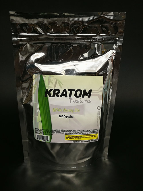 MS of Kratom Fusions : White Meang Da - Capsules