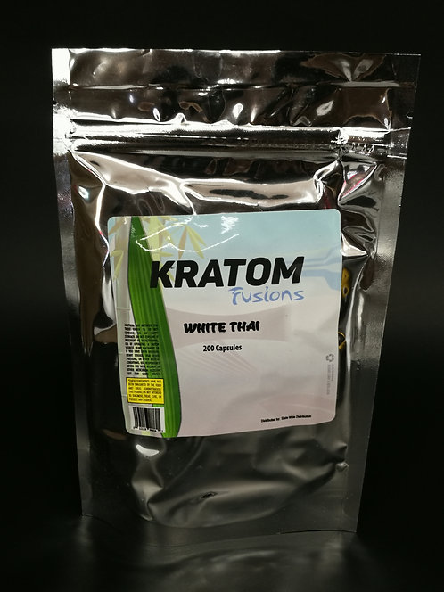 MS of Kratom Fusions : White Thai - Capsules