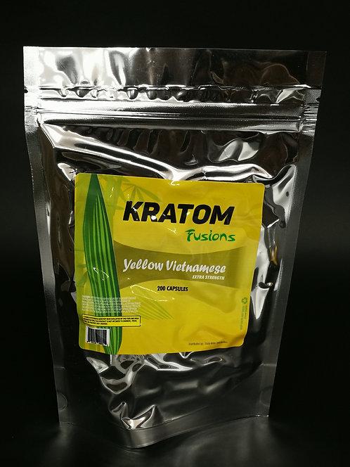 MS of Kratom Fusions : Yellow Vietnamese - Capsules