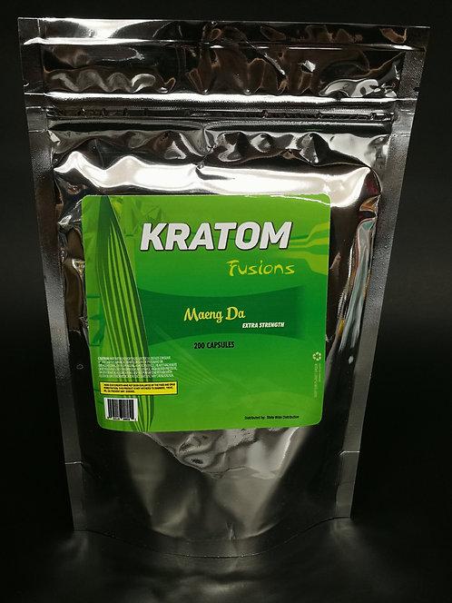 Kratom Fusions : Maeng Da - Capsules