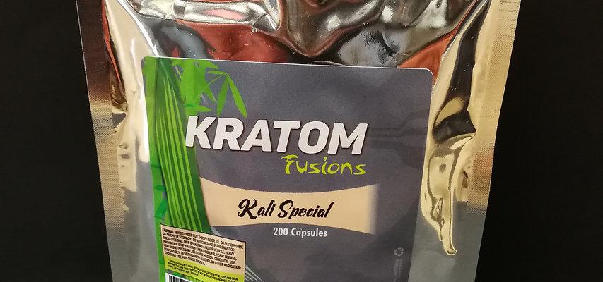 Kratom Fusions : Kali Special - 200 Caps