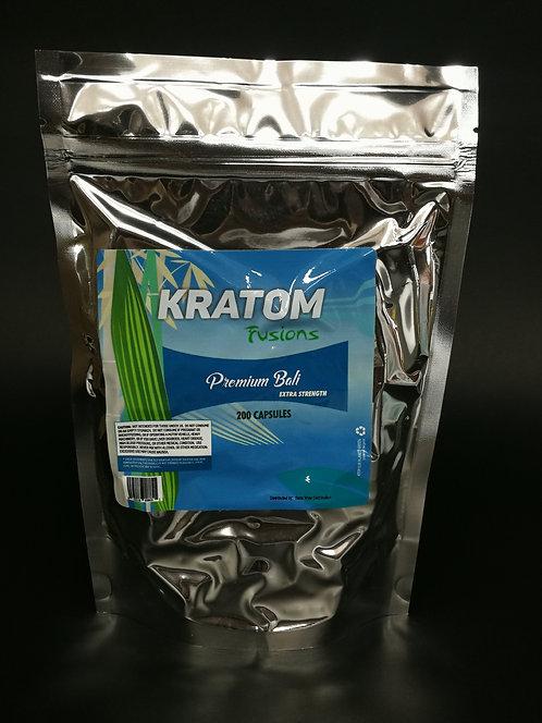 Kratom Fusions : Premium Bali - Capsules