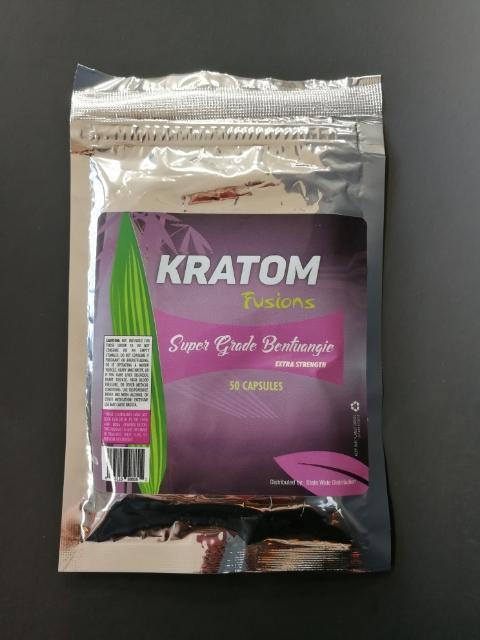 Kratom Fusions : Super Grade Bentuangie - 50 Capsules