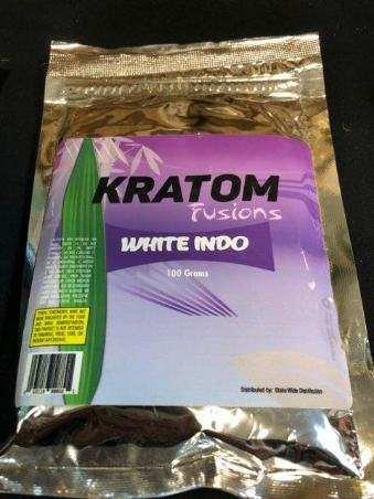 MS of Kratom Fusions : White Indio - Powder