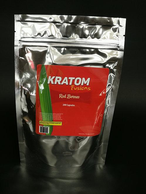 Kratom Fusions : Red Borneo - Capsules